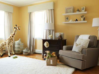 9 Fresh Takes On The Yellow Nursery