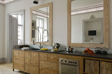 Feng Shui Of A Mirror Behind The Kitchen Stove