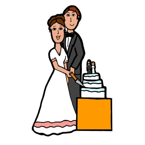 Clip Art Wedding.9 Places To Download Free Wedding Clipart