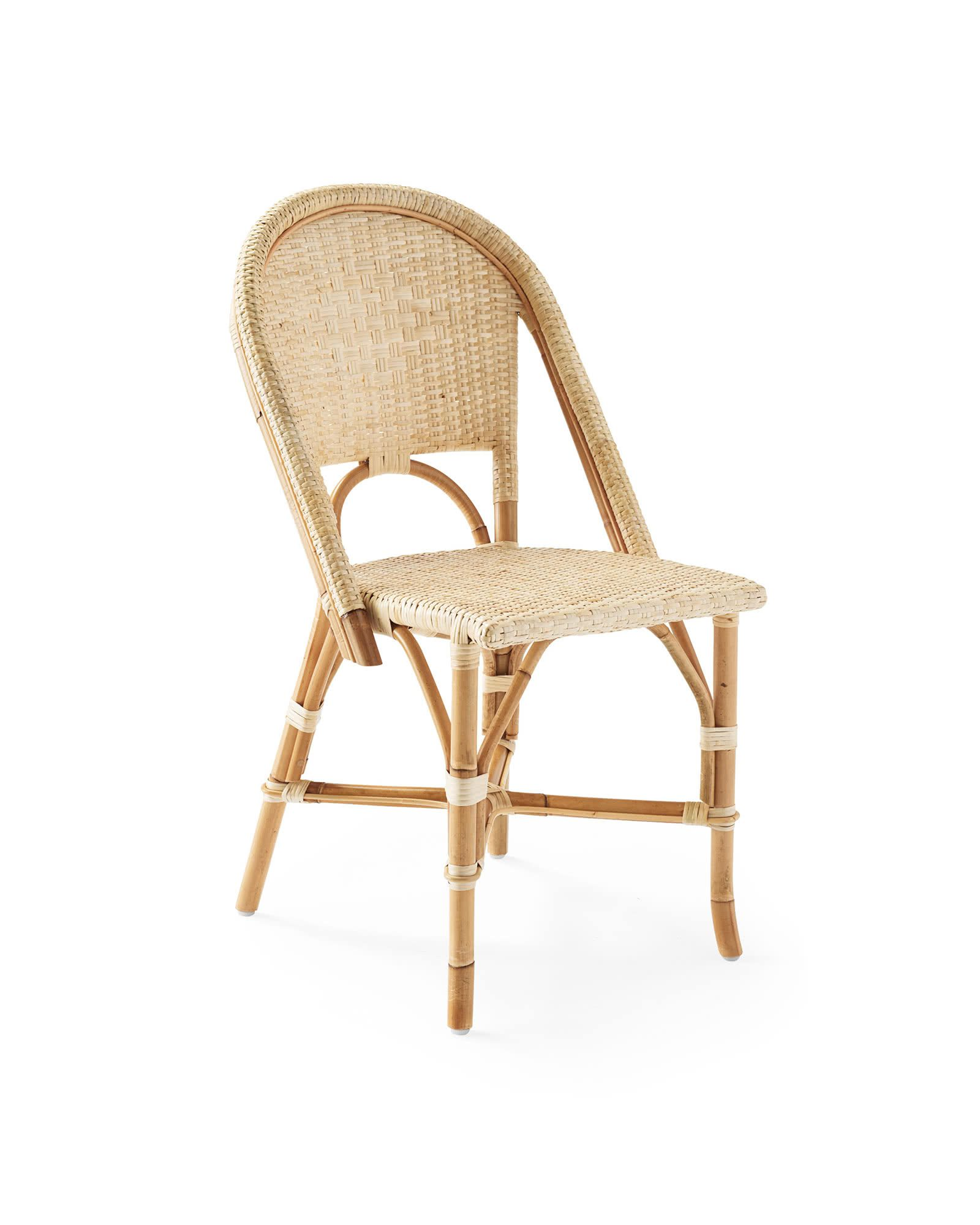 Serena & Lily Sunwashed Riviera Dining Chair