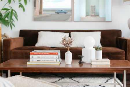 To Decorate And Style A Coffee Table, Living Room Side Table Decor