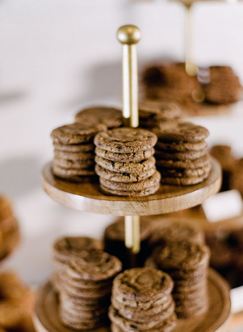 Barra de galletas de recepción nupcial