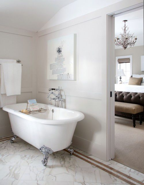 Beautiful Bathrooms With Clawfoot Tubs - Modern bathroom with clawfoot tub
