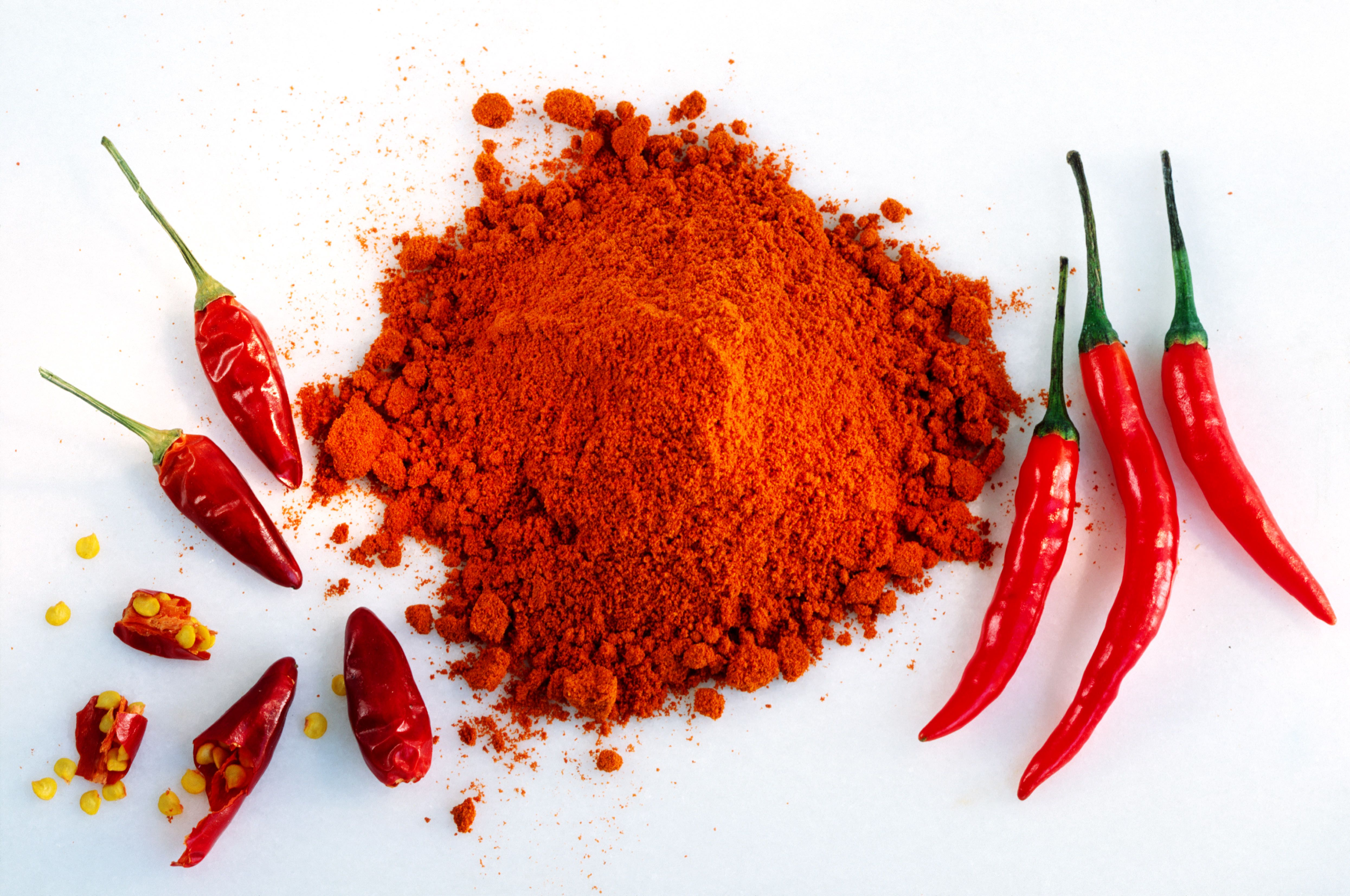 Red chilli and powder