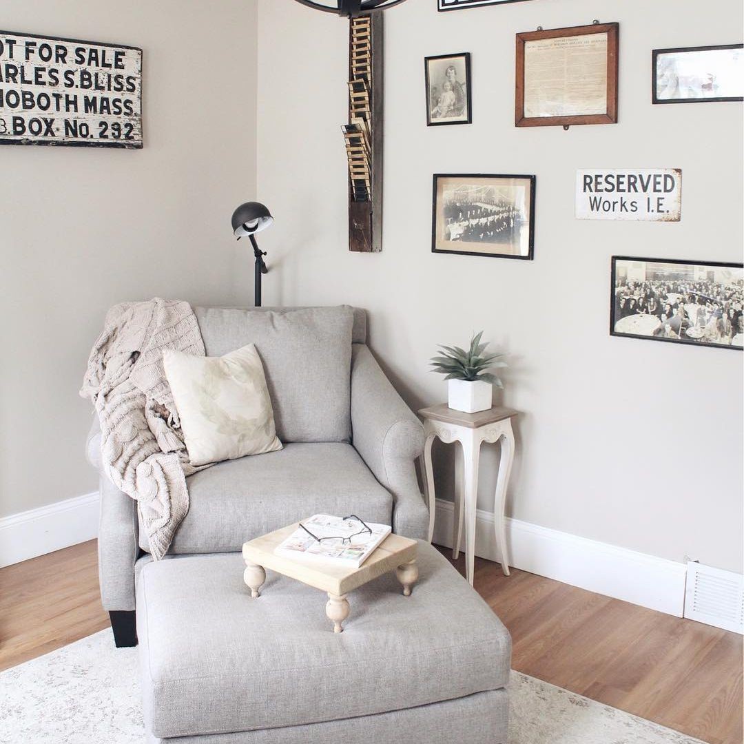 Gallery Wall Reading Nook