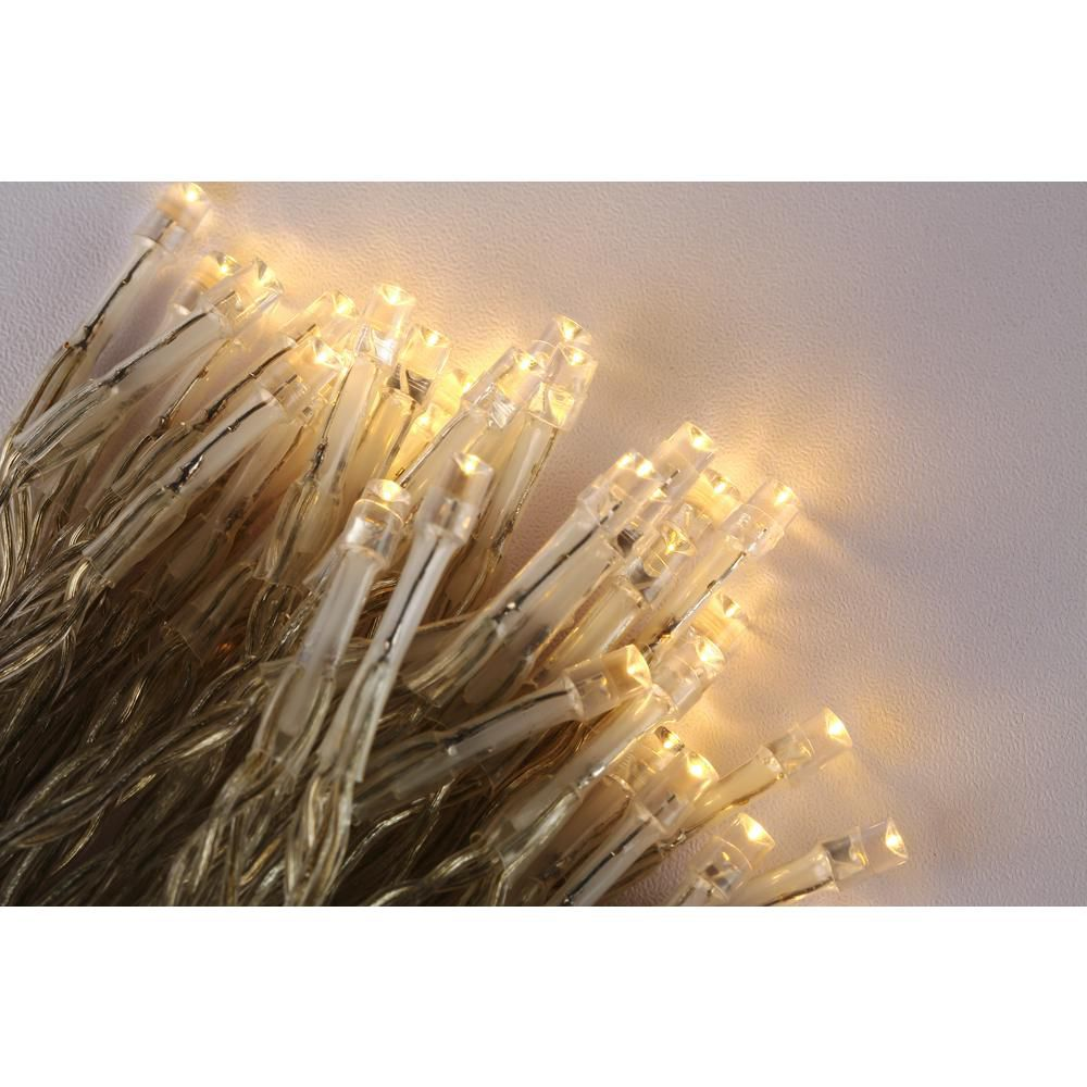 best battery operated 100 light led warm white battery operated decorative string light