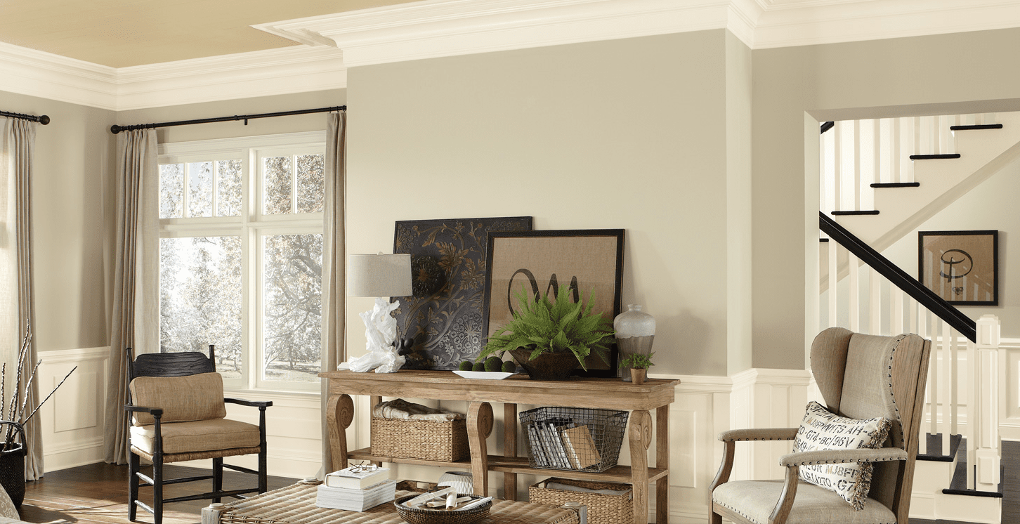 Interesting Living Room Paint Color Ideas: Gray + Beige = Griege: The Best Neutral Color Ever?