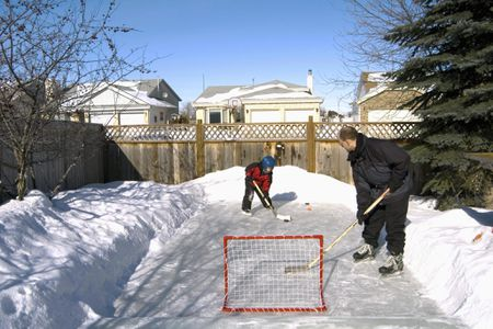 Build Your Own Backyard Ice Rink - How To Build And Maintain A Backyard Ice Skating Rink