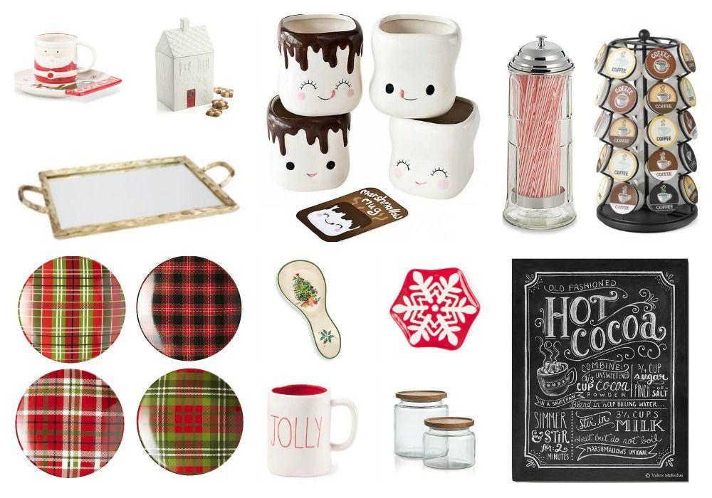 hot chocolate bar accessories