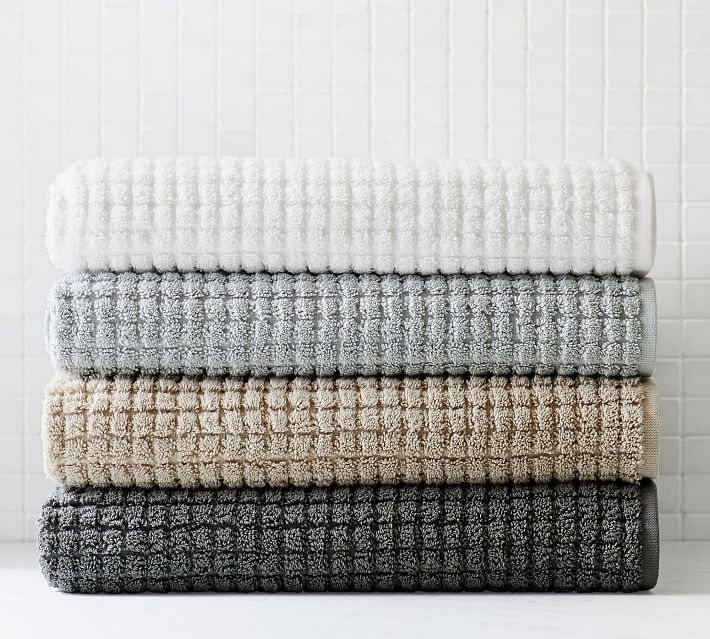 Organic Sculpted Towels
