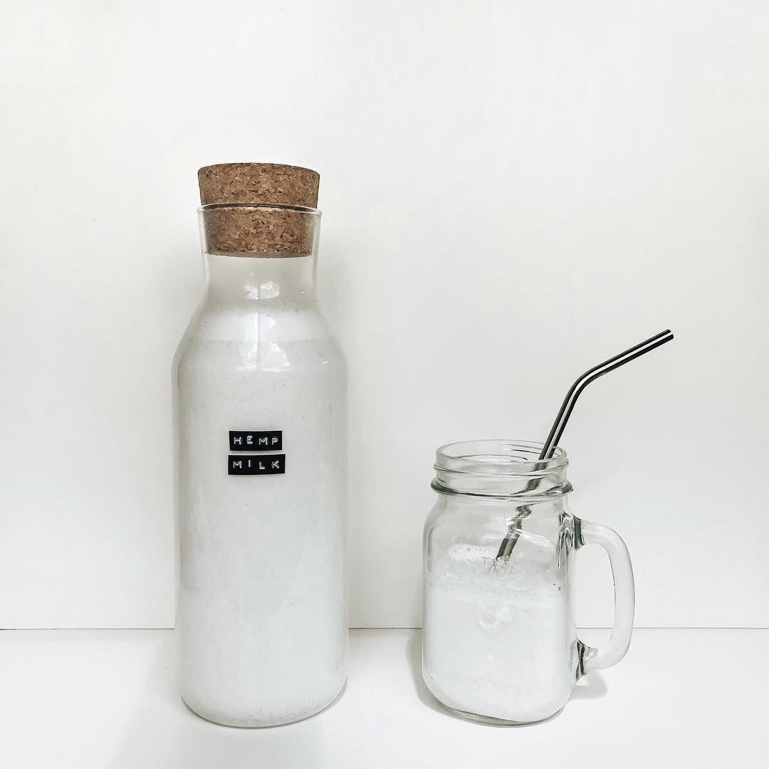 A glass jar labeled