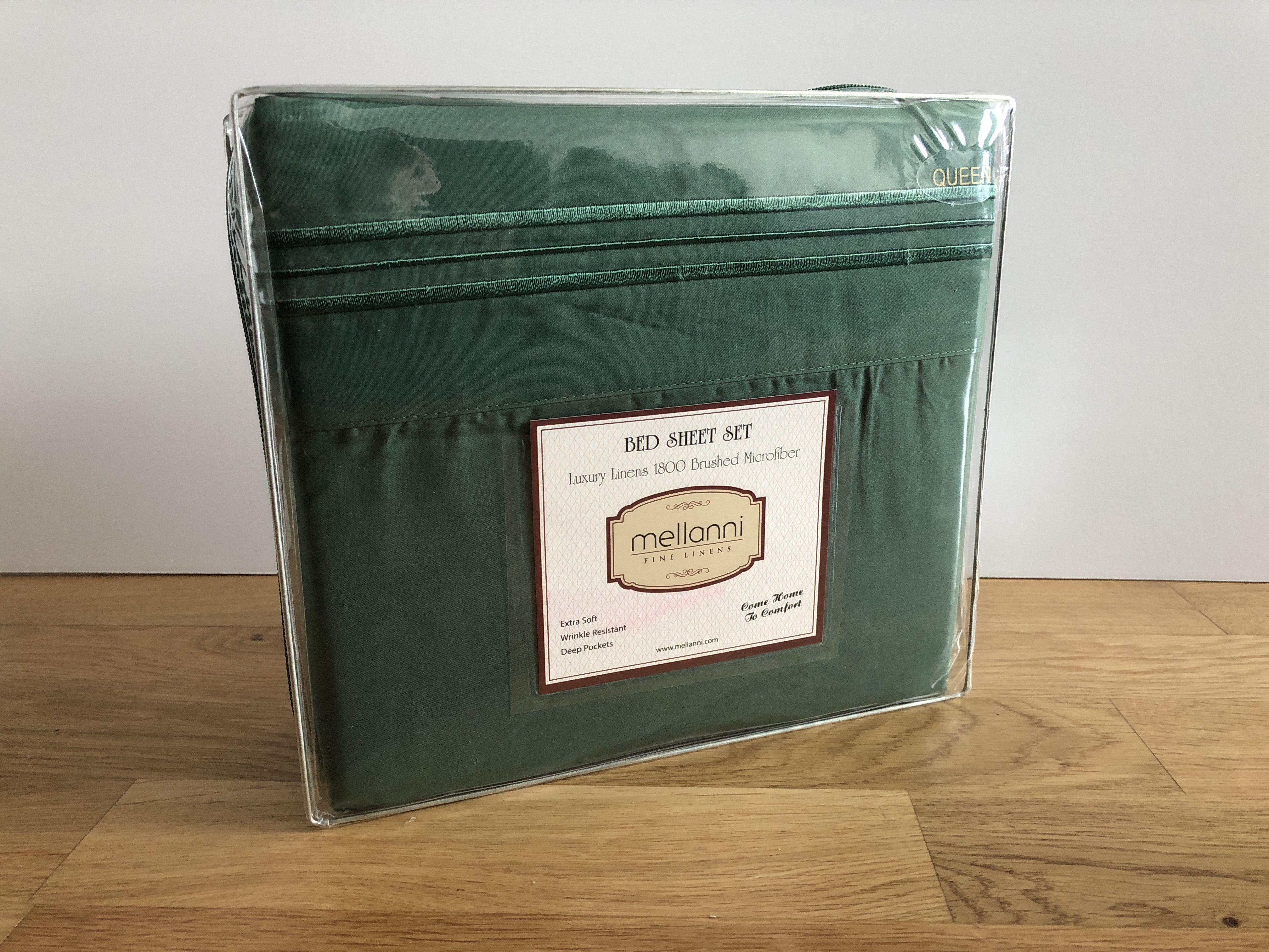 346364e329 Mellanni Brushed Microfiber Sheet Set package