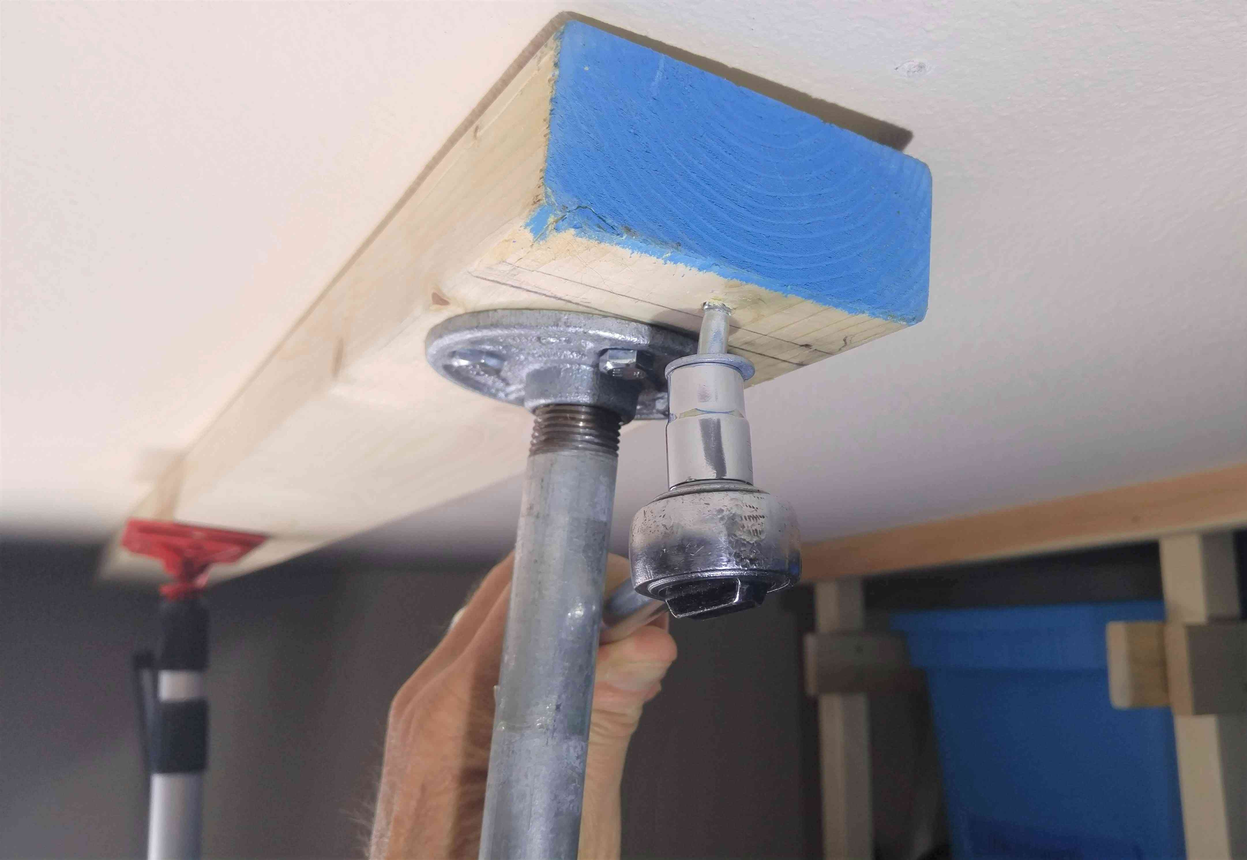 Add 2x4 to Ceiling Joists