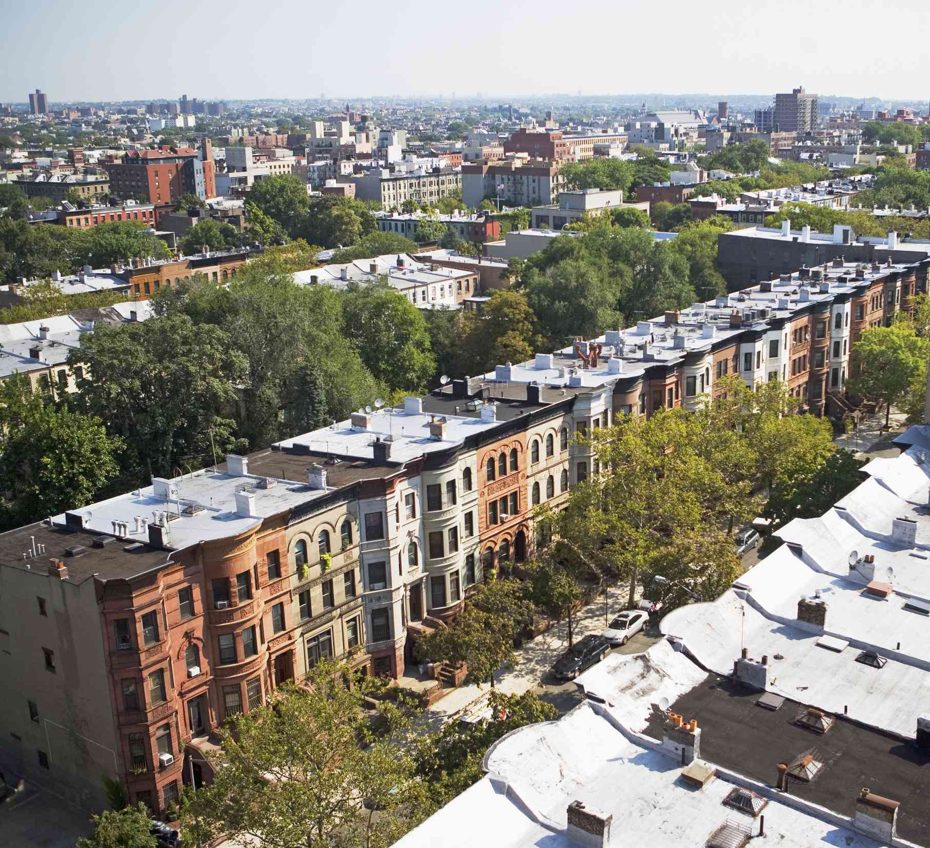 Rowhouses in NYC
