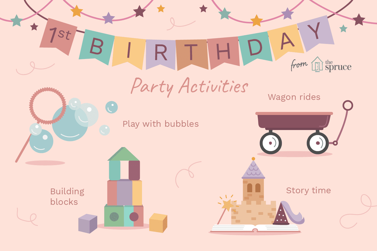 ideas for a one year old's birthday party