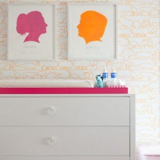 Diy Nursery Art Ideas Family Silhouettes