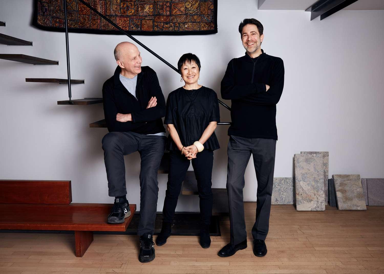 TWBTA partners (from left to right) Tod Williams, Billien Tsien, Paul Schulhof