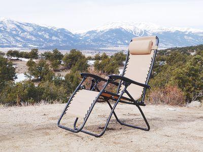 Goplus Folding Zero Gravity Chair