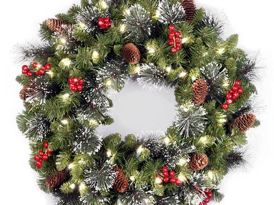 the 10 best holiday decor wreaths to buy in 2018 - Best Christmas Decorations