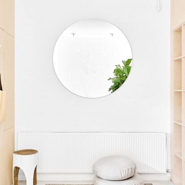 Minimalist mirror decor