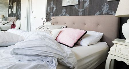 turn your bedroom into a pampering retreat