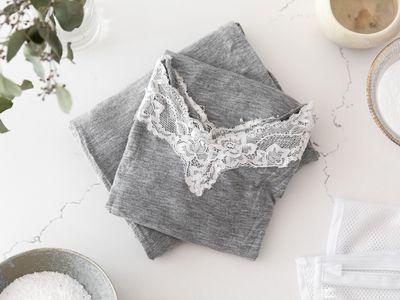 A pair of gray modal pajamas