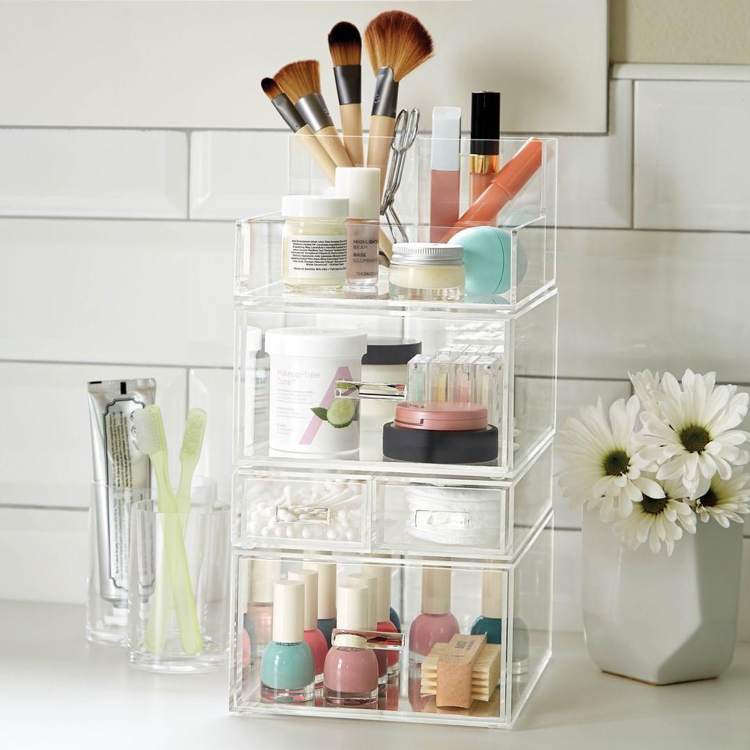 Makeup organization holder