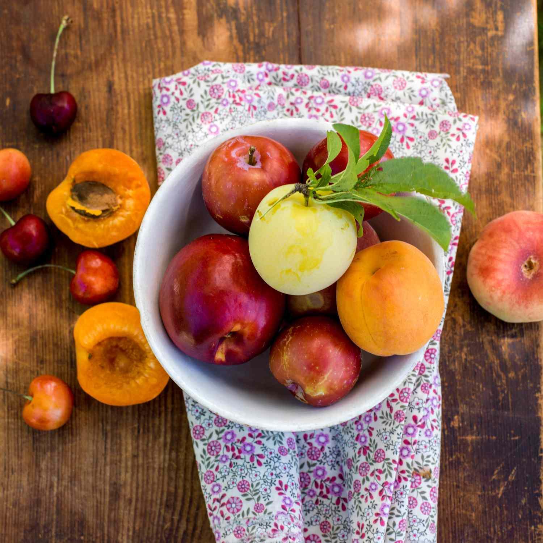 Tazón de fruta fresca