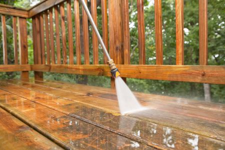 How to Pressure-Wash a Wood Deck