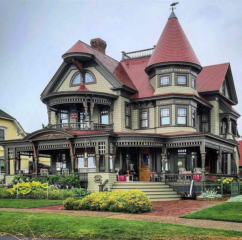 casa victoriana del centro de Los Ángeles