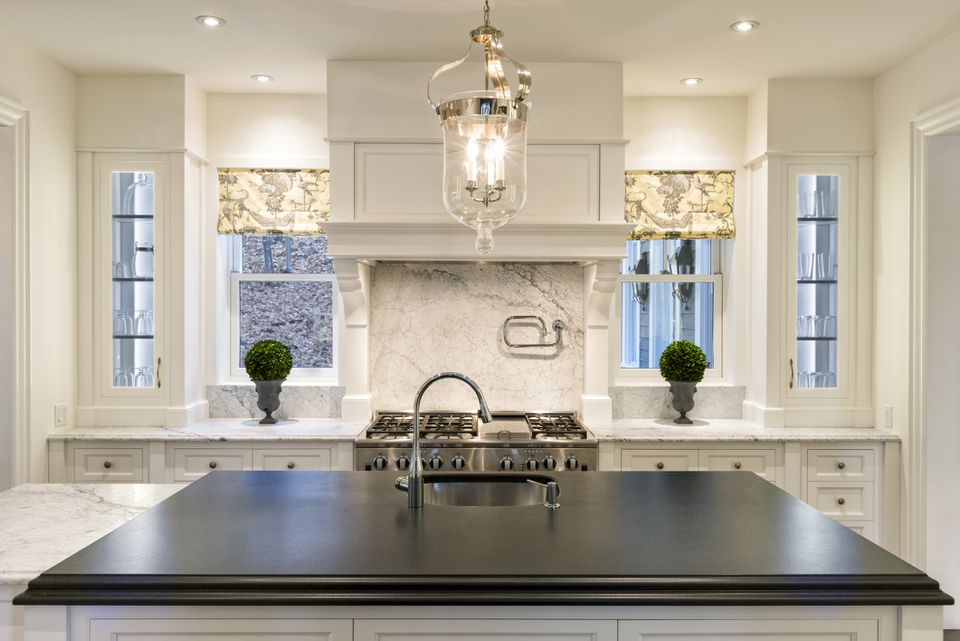 "White ""Showy"" Kitchen"