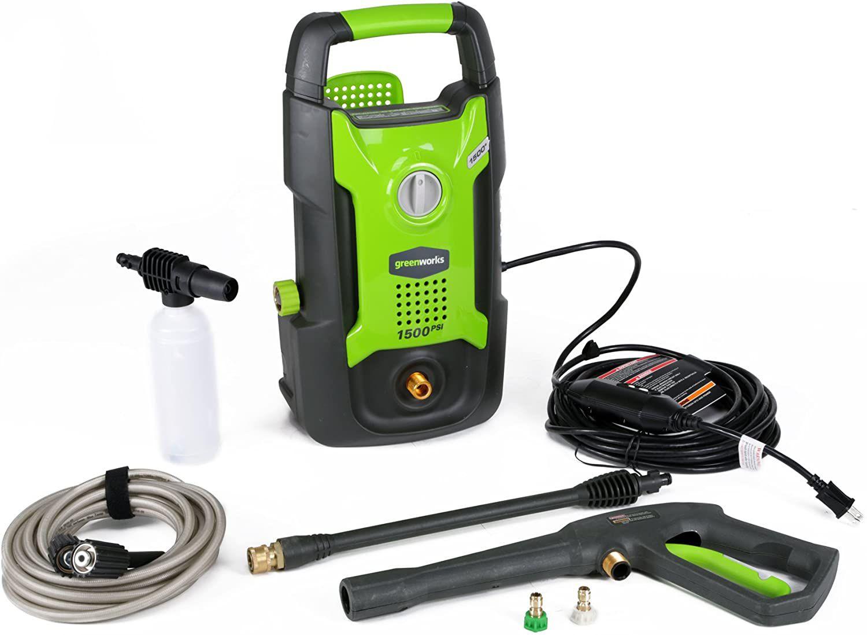 1500 PSI 13 Amp 1.2 GPM Pressure Washer