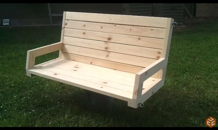 2x4 Porch Swing Plan From Jay S Custom Creations