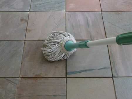 How To Clean Slate Floors - Rough tile floor cleaner