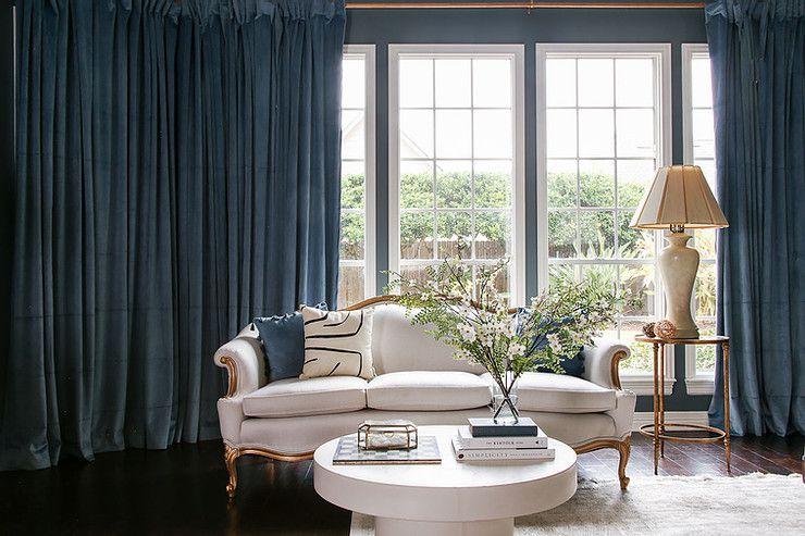 grandmillenial room with big windows