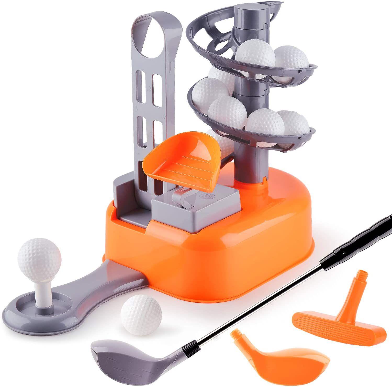 iPlay, iLearn Kids Golf Toys Set, Left & Right Golf Head
