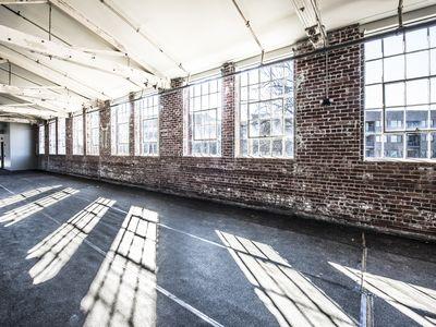 Brick wall in open loft