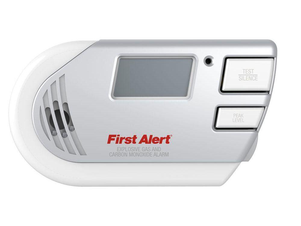 Kitchen Gas Alarm Detector Plug-in Digital Gas Detector with Digital Display