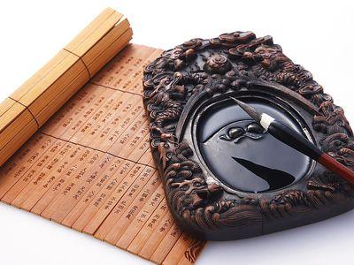 Chinese zodiac signs scroll