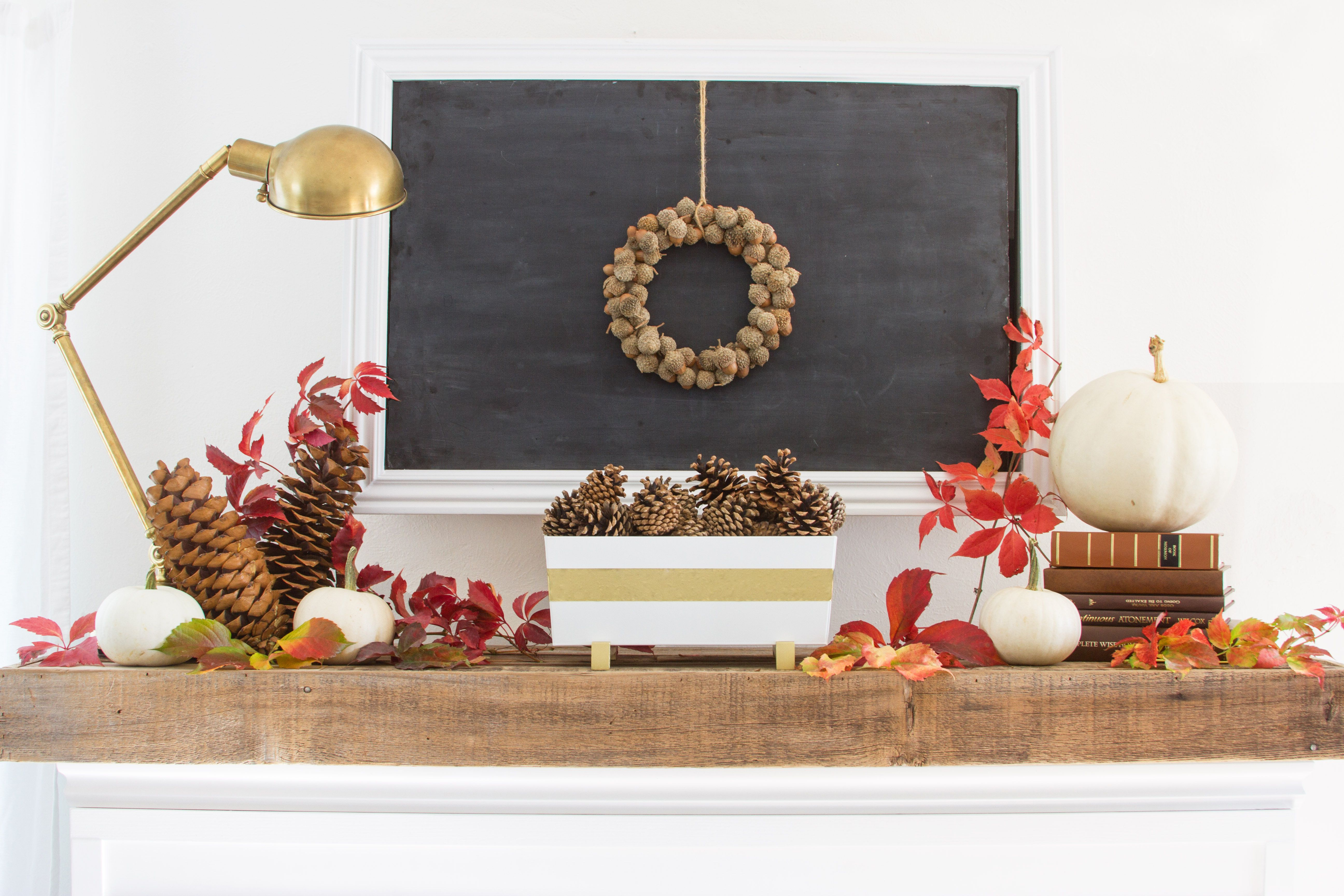 Beautiful-Contemporary-Fall-Mantel