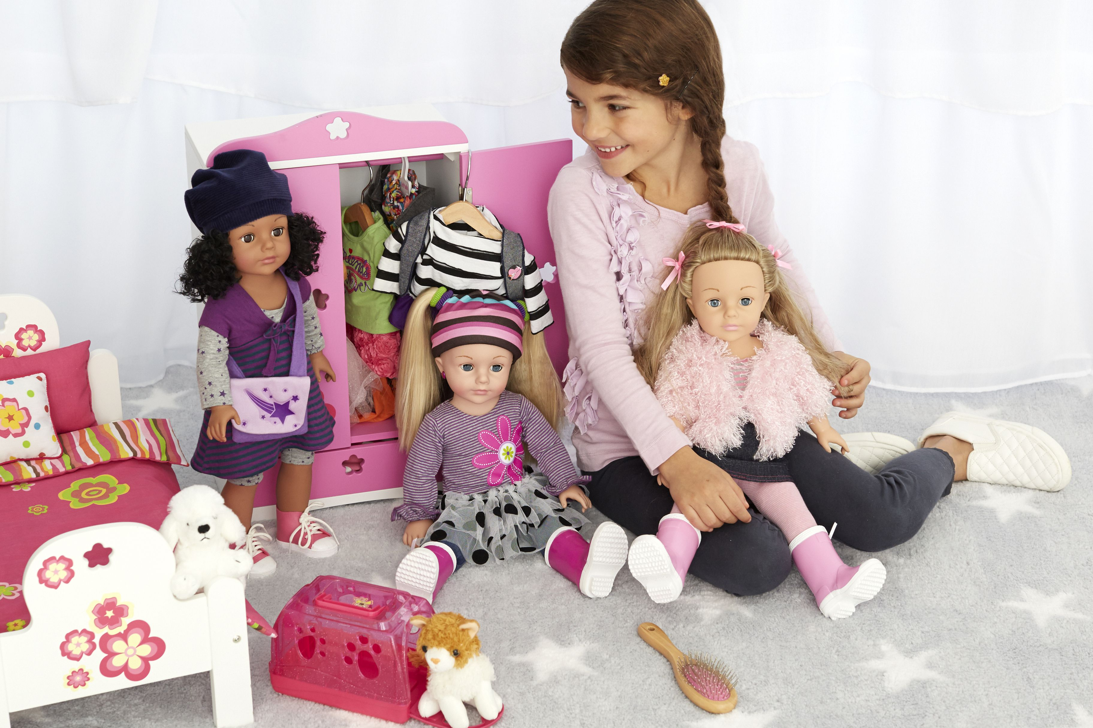Image result for kids play with dolls