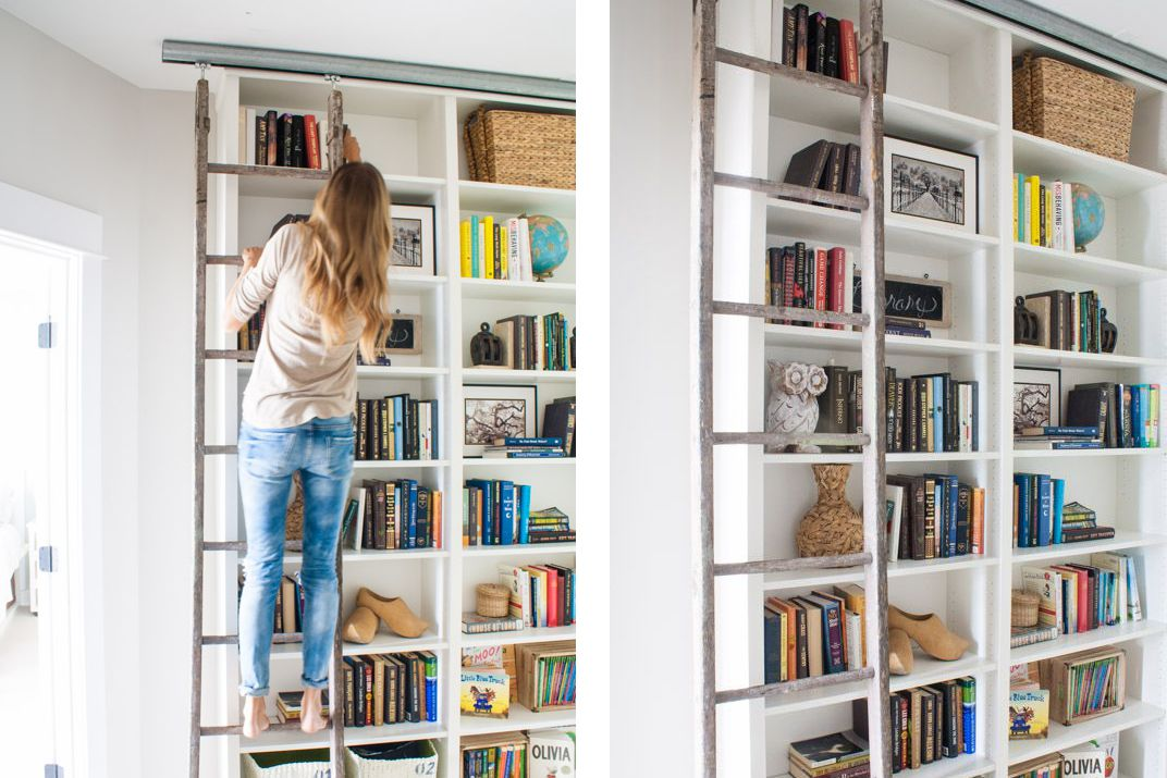 23 ingenious ikea billy bookcase hacks - Ikea Billy Bookshelves