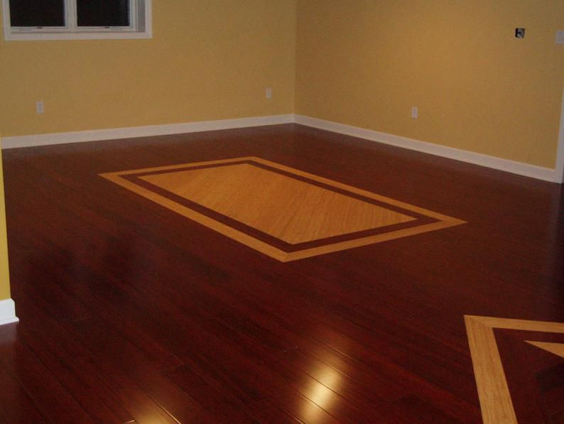 inlaid bamboo basement floors
