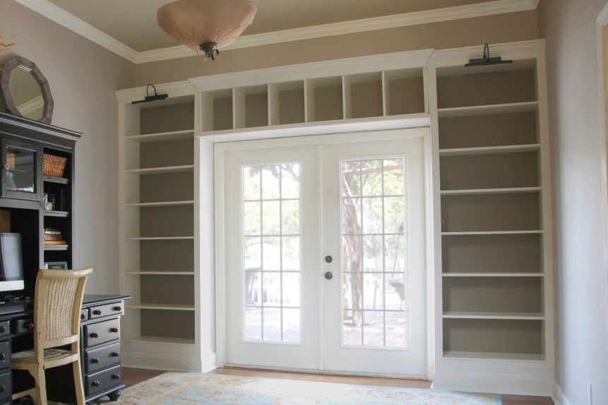 23 ingenious ikea billy bookcase hacks - Ikea Built In Bookshelves