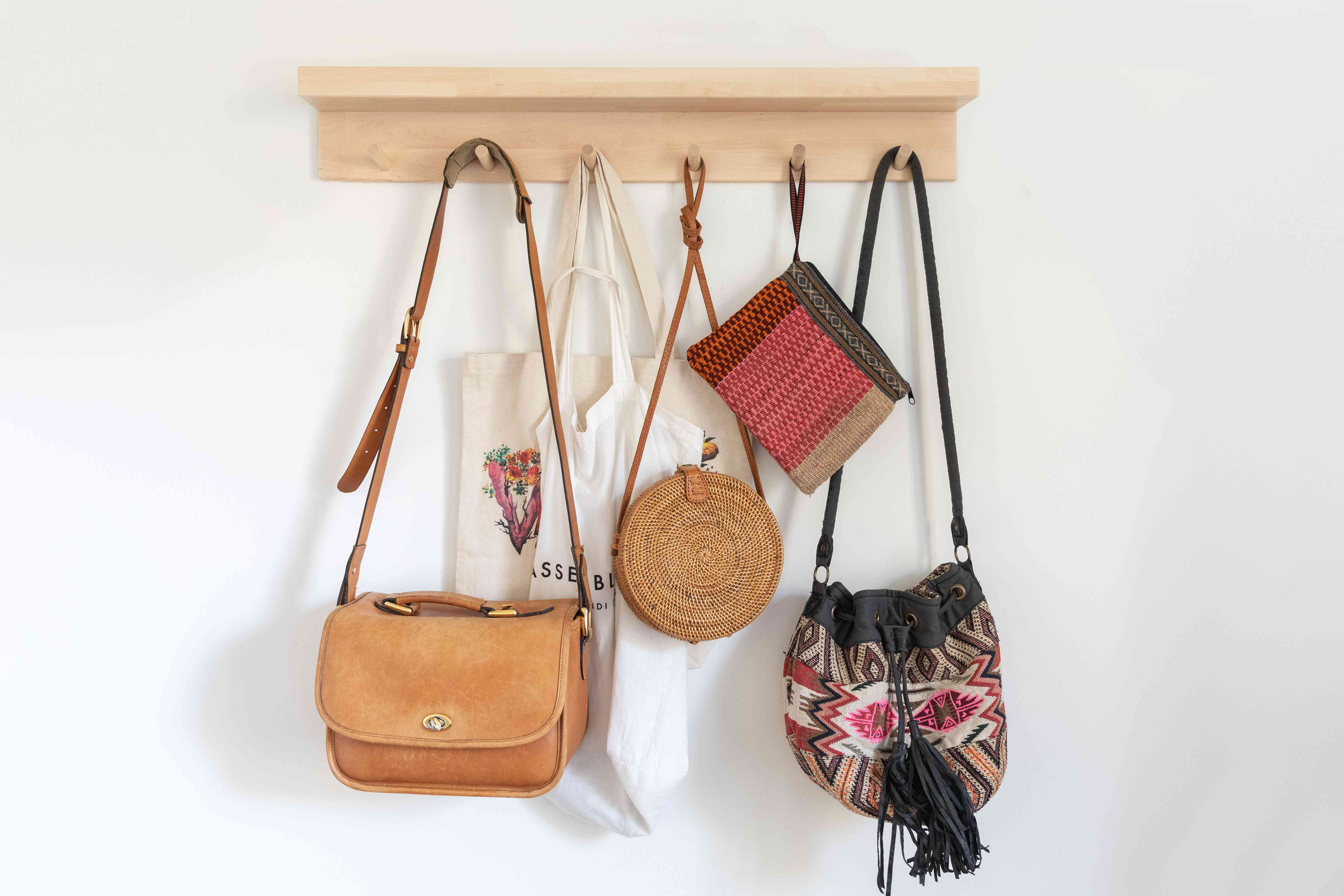 9 Clever Handbag Storage Ideas