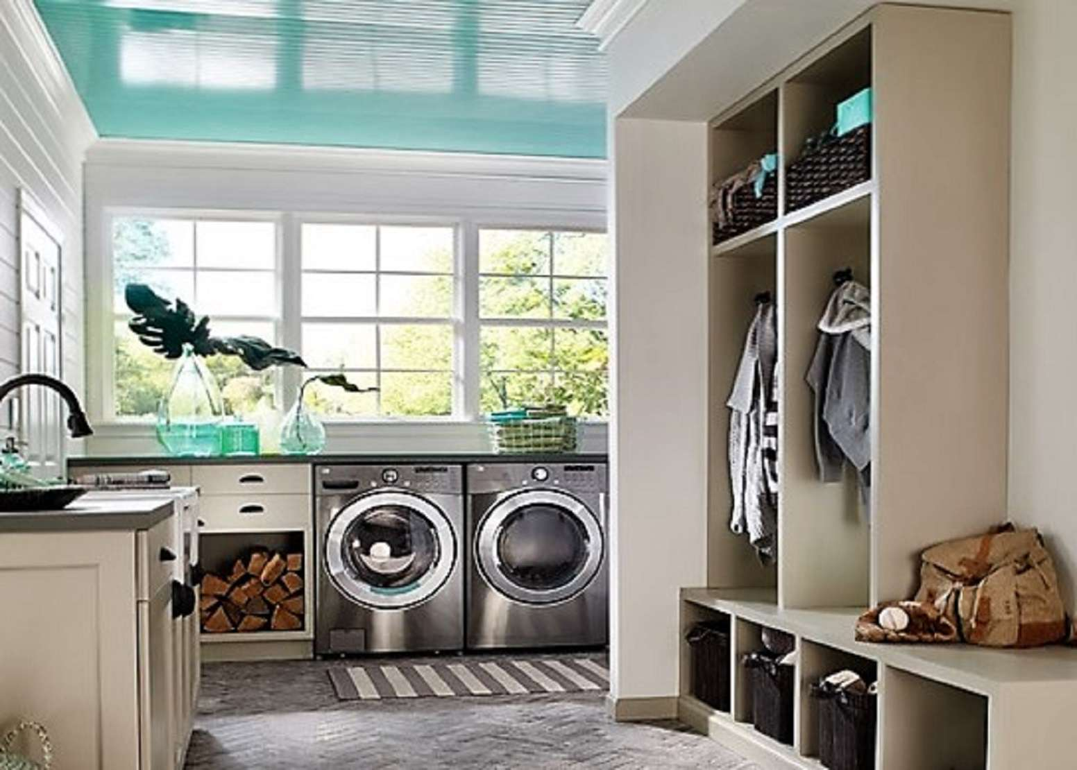 5 Best Paint Colors For Your Laundry Room