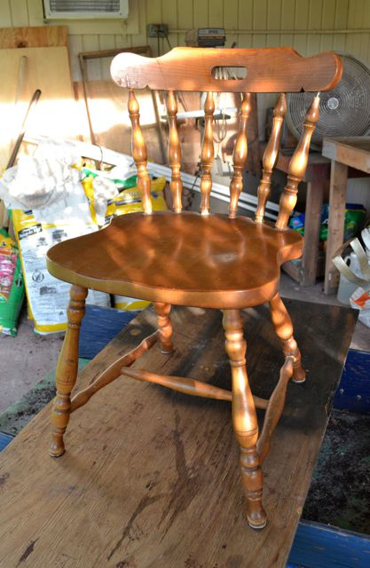 Beautiful Age Wood Chair Wooden Chair Attractive Appearance Other Antique Furniture