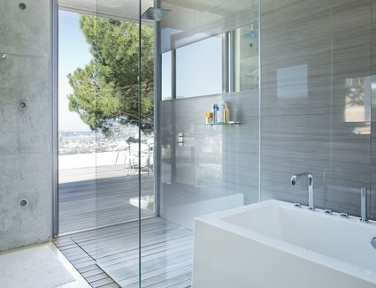 Choosing Between A Prefabricated Stall Or Tiled Shower - Bathroom bath and shower designs