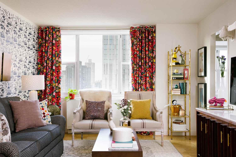 Apartamento peculiar y colorido de Nueva York