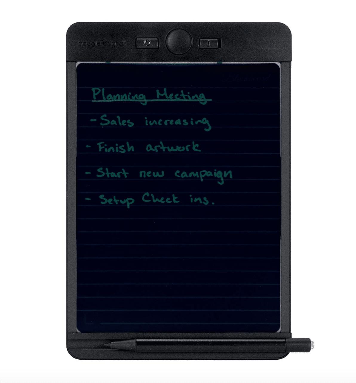 Blackboard Writing Tablet - Note Size